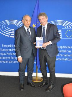 David Sassoli, Presidente P.E.