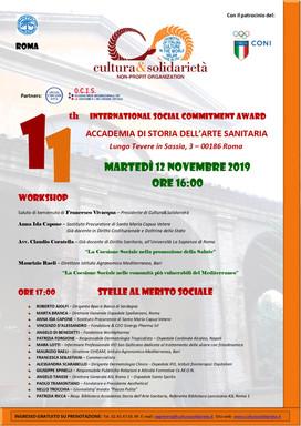 """Le """"Stelle al Merito"""" arrivano a Roma e premiano la Coesione Sociale"""