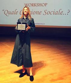 Guenda Goria: Stella al merito per la Cultura e la Solidarietà