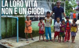 Il Myanmar e l'infanzia a Milano