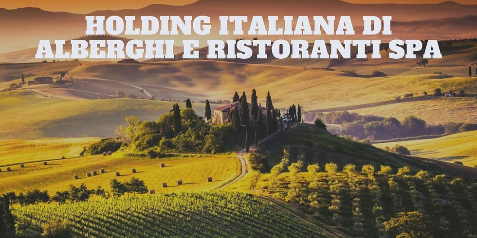Presentazione Holding Italiana Alberghi e Ristoranti Spa
