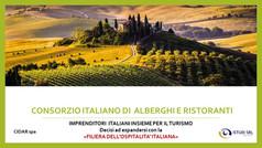 """Turismo post Covid, nasce il """"Consorzio italiano di alberghi e ristoranti"""""""