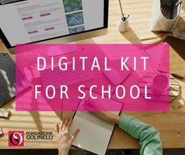 Le scuole on line con il Digital Kit di Golinelli