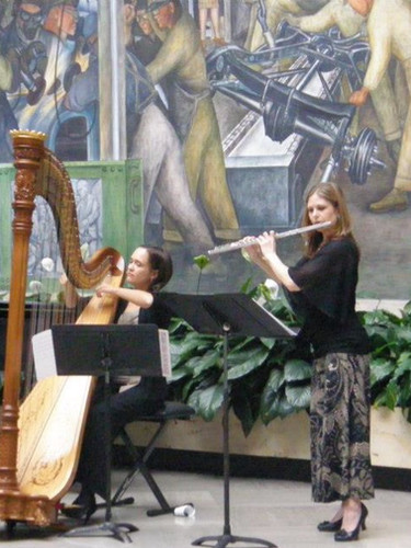 Flute & Harp at the DIA 2013