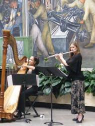 Flute & Harp at the DIA 2013