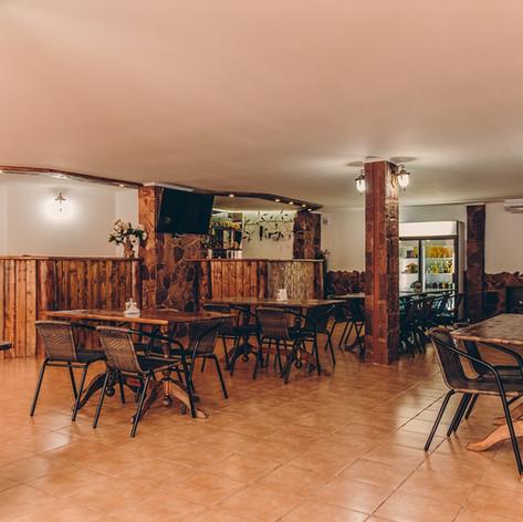 Кафе в гостевом доме Усадьба. Голубая бу
