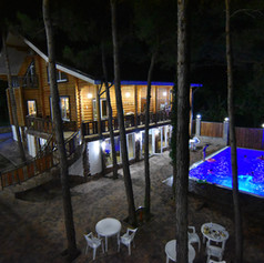 Голубая бухта гостевой дом с бассейном У
