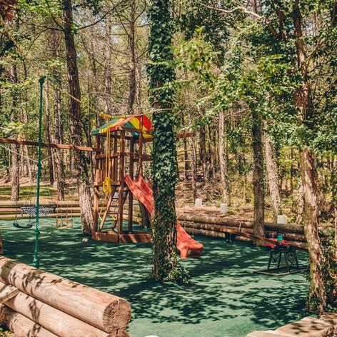 Детская площадка в гостевом доме Усадьба