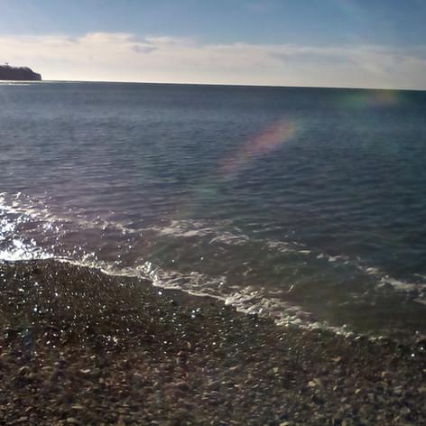 фотография моря голубая бухта