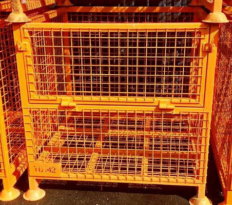 Style 7 Orange Steel Cage
