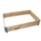 Pallet collars, euro and standard size, stackable