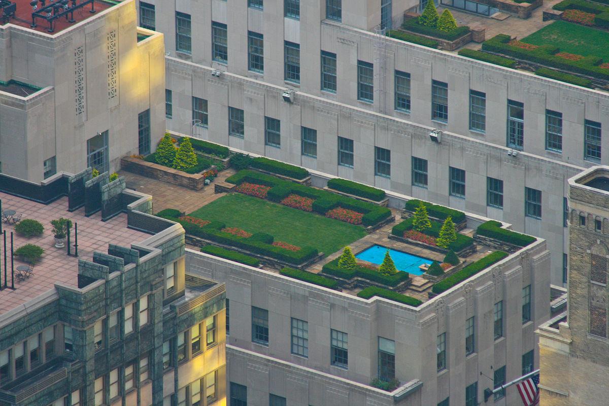 Roof top gardens