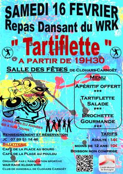 Affiche Repas Dansant WRK