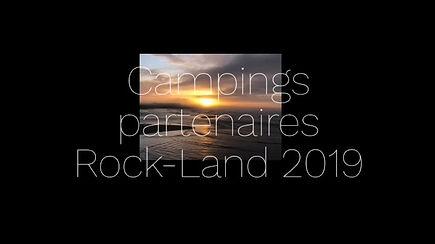 Campings Partenaires Rock-Land 2019