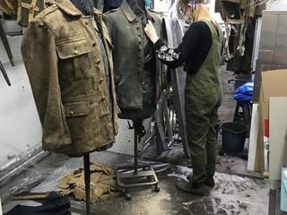 Costume breakdown at Opera North for WW1 Opera