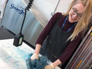 Textiles printing process
