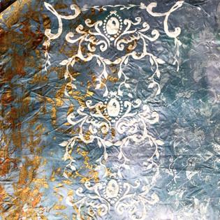Isla 'The Islands of Fandye' Textiles Print