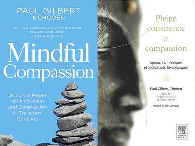 Livre de Paul Gilbert et de Choden : Mindful Compassion