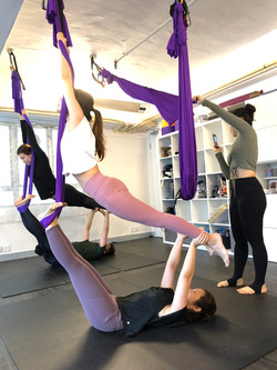 雙人瑜伽 x 空中瑜伽按摩工作坊
