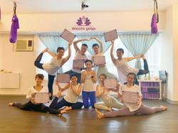 第一屆瑜伽導師畢業生