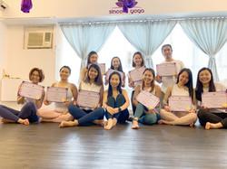 第二屆瑜伽導師畢業生