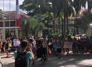 Marches pour le climat en Polynésie aussi