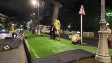 Une idée innovante pour nos espaces verts: le plastic gazon !