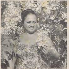 Une grande dame tahitienne de l'écologie s'en est allée