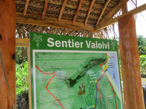 Le sentier Vaioivi inauguré à Rurutu