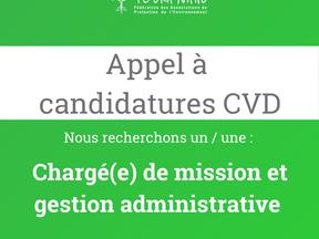 La FAPE, recrute en CVD !