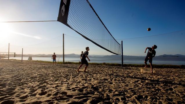 Quadras poliesportivas - Beira Mar Norte