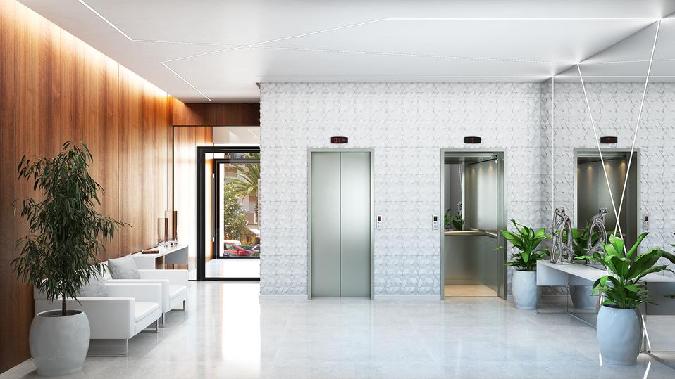 Hall de entrada residencial