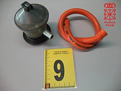 La Policía Foral detiene a tres varones por un delito de estafa en una revisión de gas butano en Cab