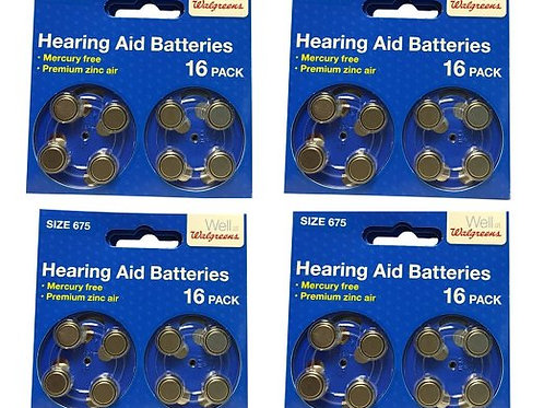 Hearing Aid Battery 675