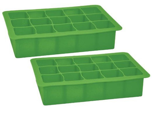 Green Sprouts Silicone Freezer Trays w/ Pamphlet