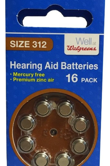Hearing aid Battery 312