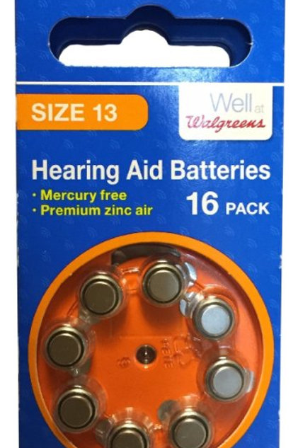 Hearing Aid Battery 13
