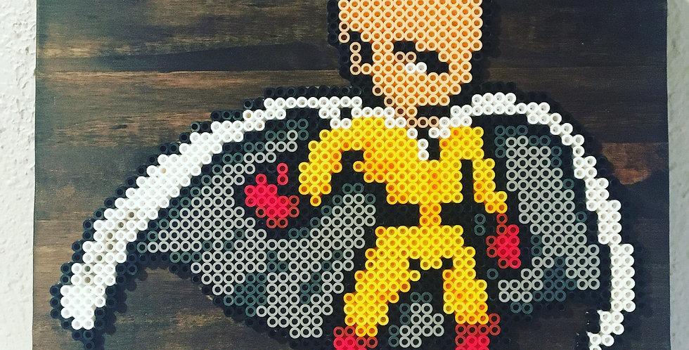 One Punch Man Pixel Art