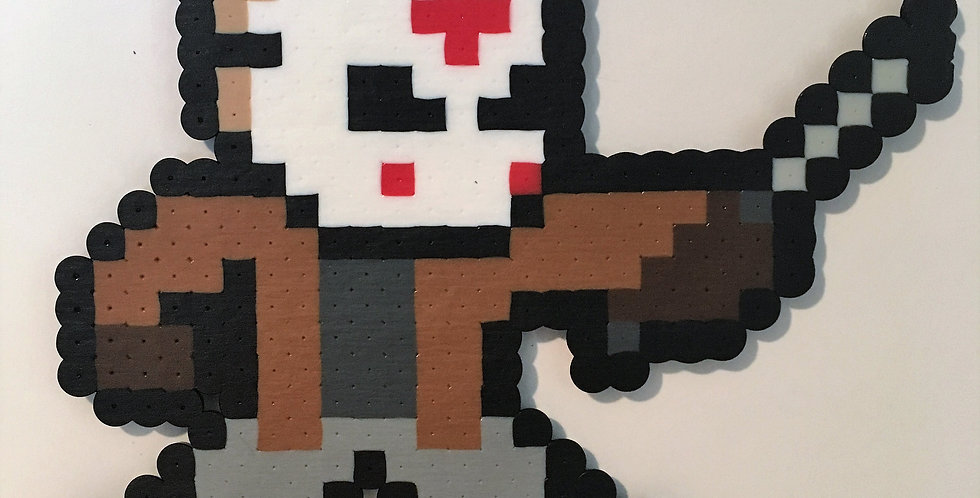 Jason Voorhees Pixel Art