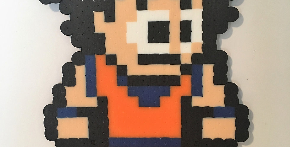 Goku Pixel Art