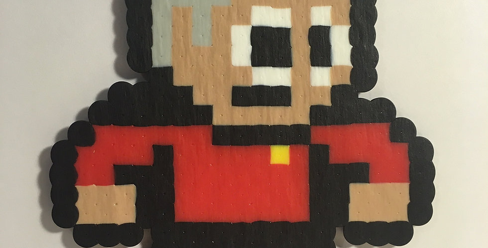 Captain Picard Pixel Art