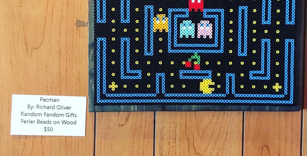 Pac-Man Pixel Art