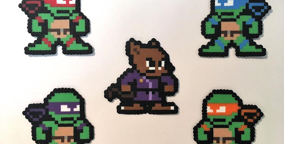 Teenage Mutant Ninja Turtles Collection Pixel Art