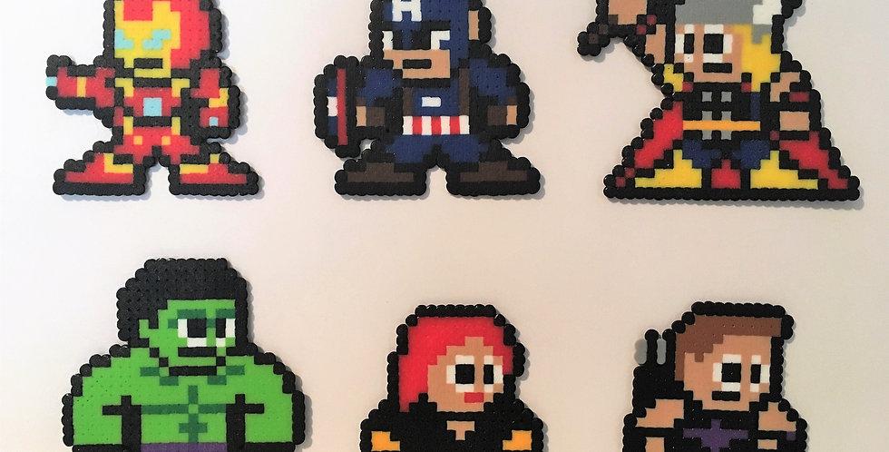Avengers Collection Pixel Art