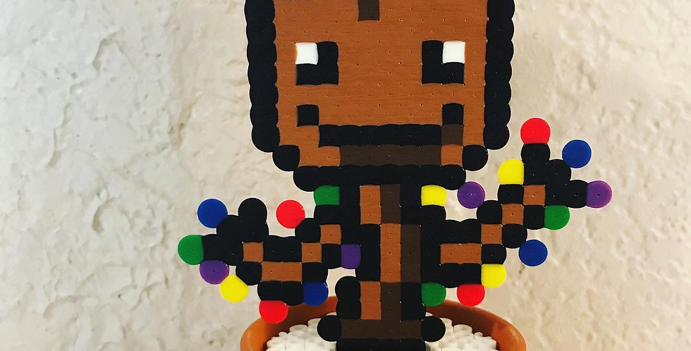 Holiday Groot Pixel Pot