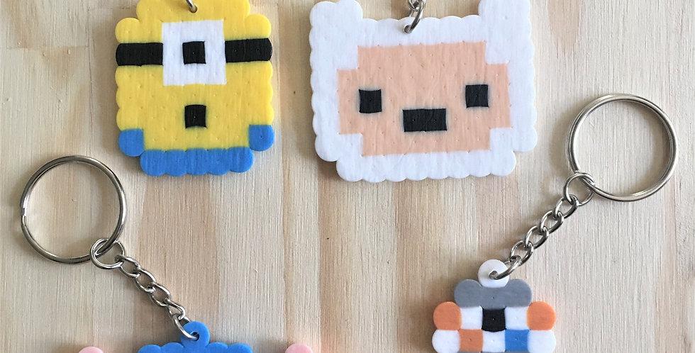 Random Fandom Pixel Keychains