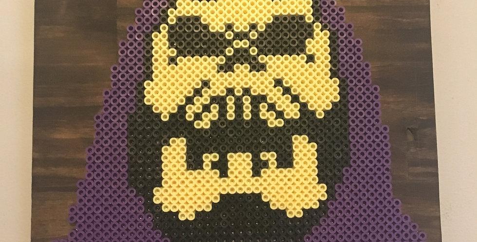 Skeletor Pixel Art