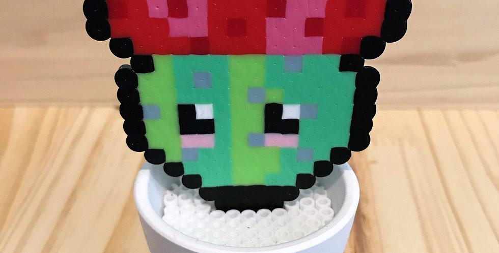 Kawaii Cacti Pixel Pot