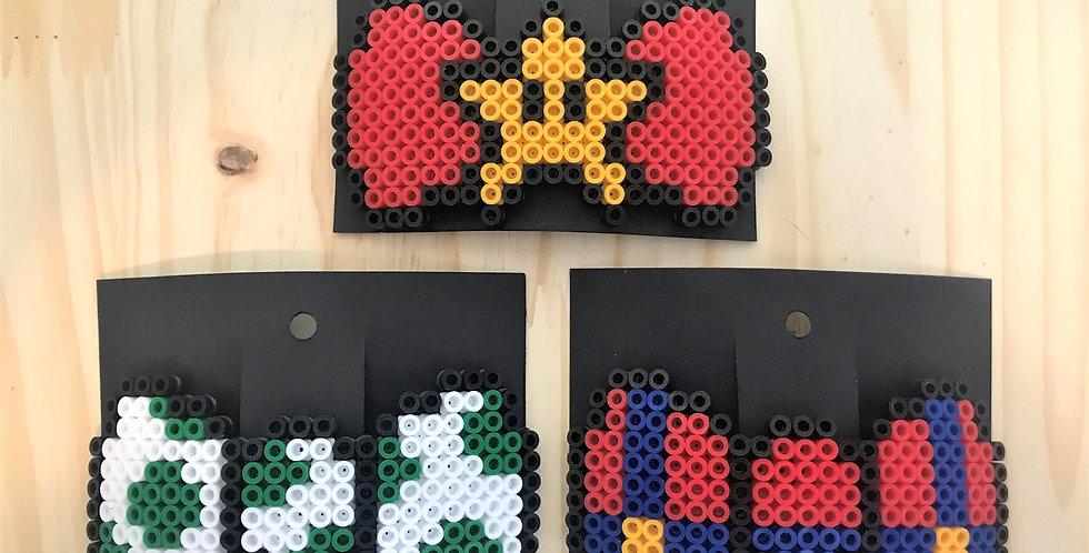 Mario Hair Bows
