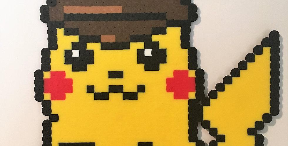 Detective Pikachu Pixel Art